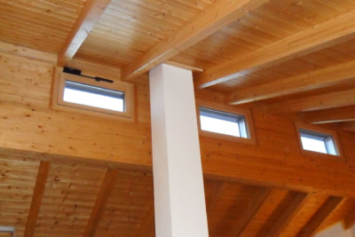 Holzbau-Stur-Innenverkleidung